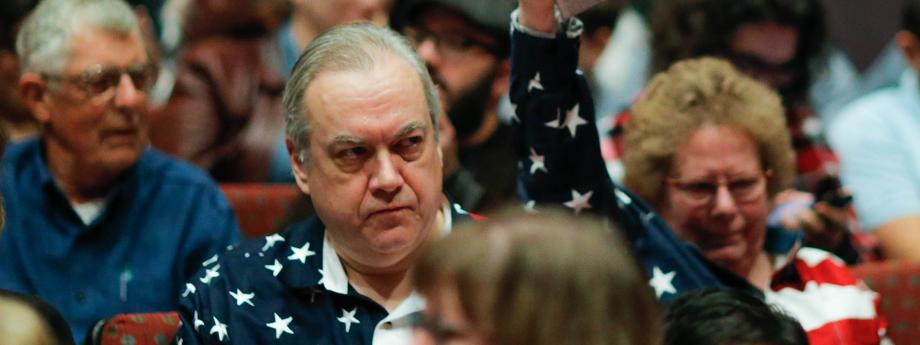 GOP Rep. Leonard Lance Holds Constituent Town Hall Meeting In New Jersey
