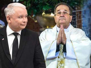 Kaczyński u Rydzyka. Groził mediom, sądom i opozycji