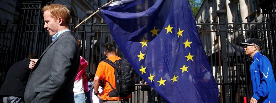 flaga UE Unia Europejska