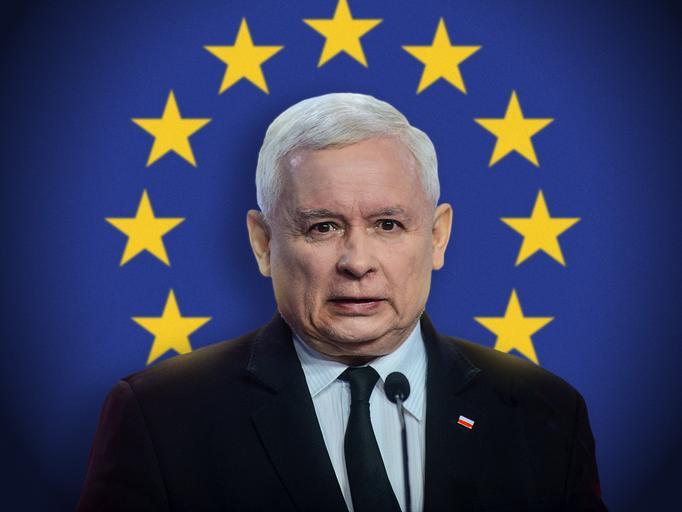Jarosław Kaczyński i Unia Europejska