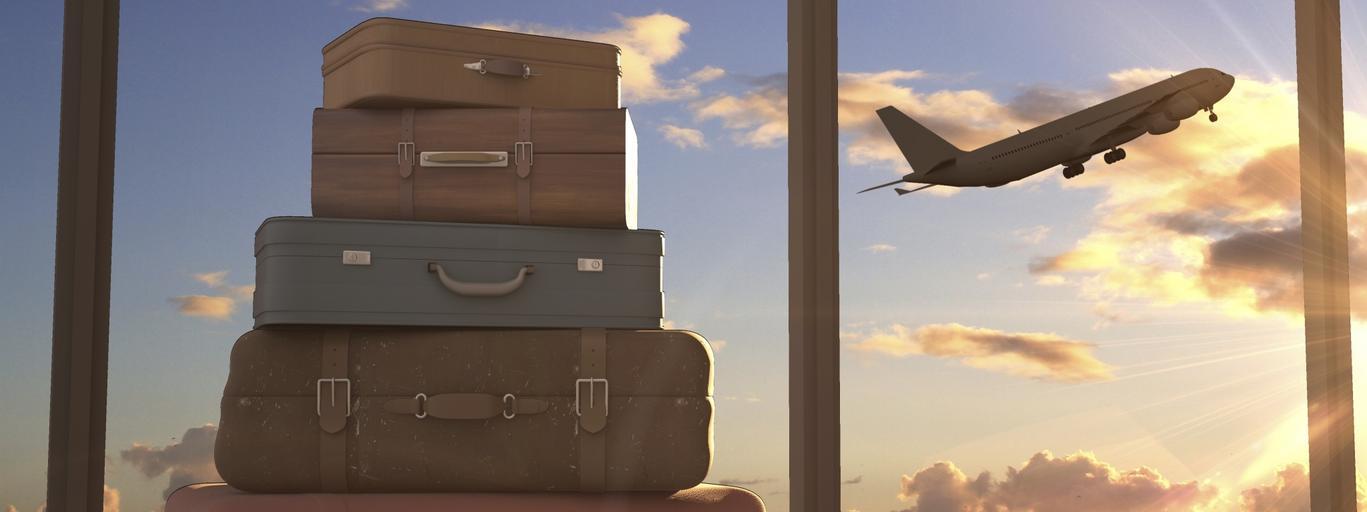 samolot walizki podróż emigracja wyjazd kraj podróże podróż wędrówka