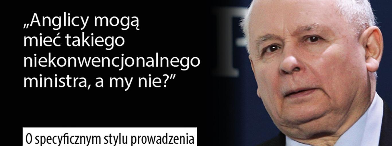 Jarosław Kaczyński PiS polityka Prawo i Sprawiedliwość