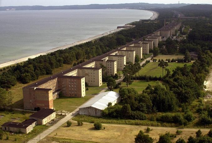 Prora najwi kszy hitlerowski o rodek wczasowy znajdowa for Nazi holiday resort