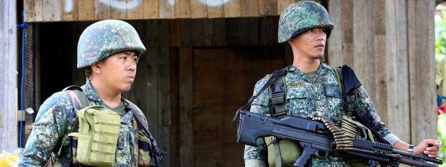 Filipiny, żołnierze
