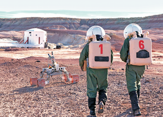 Prawie jak na Marsie