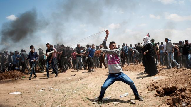 Protest at Gaza-Israeli border
