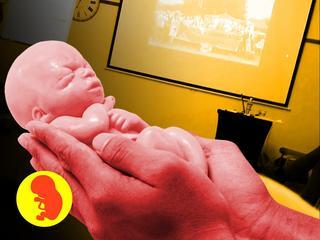 Byliśmy na tajnym szkoleniu przeciwników aborcji