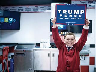 Radykalna prawica coraz częściej posługuje się dziećmi w celach propagandowych
