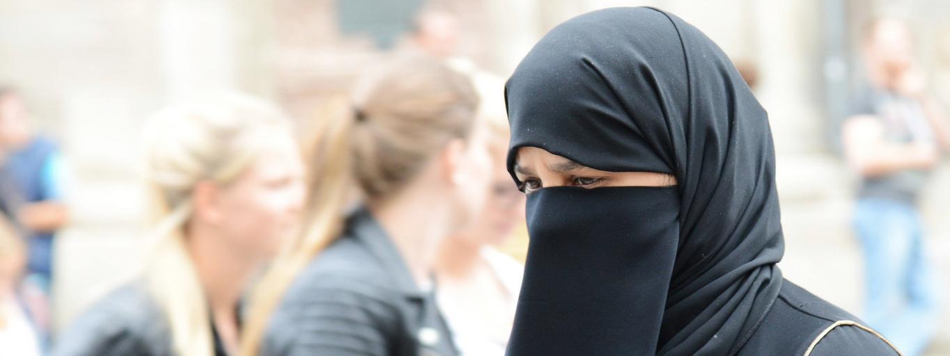 burka, kobieta, islam
