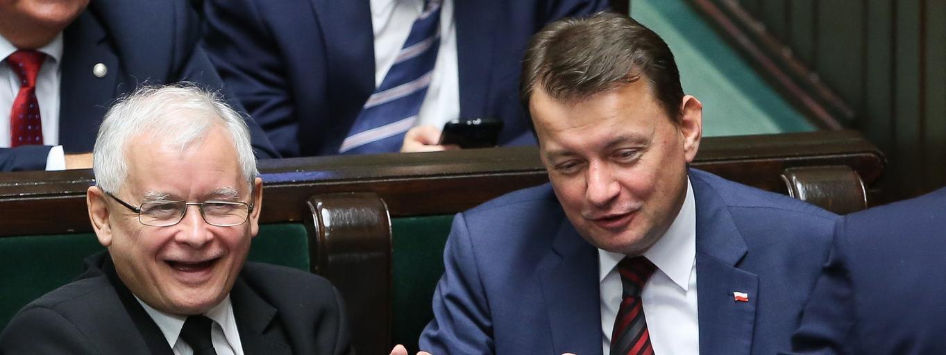 Jarosław Kaczyński Mariusz Błaszczak Antoni Macierewicz polityka Sejm Prawo i Sprawiedliwość PiS