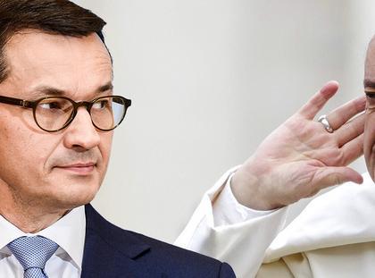 Papież Franciszek premier mateusz morawiecki