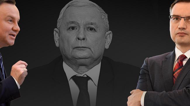 duda, ziobro, kaczyński