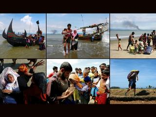 Exodus ludności Rohindża