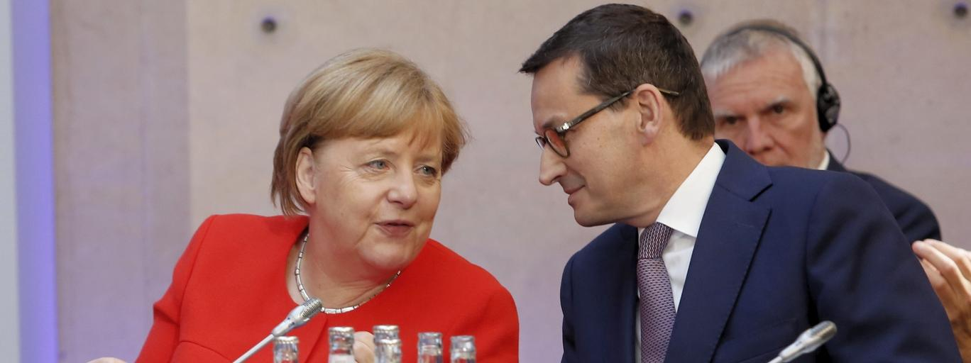 Mateusz Morawiecki, Angela Merkel