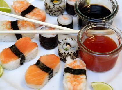 Sushi, sos sojowy