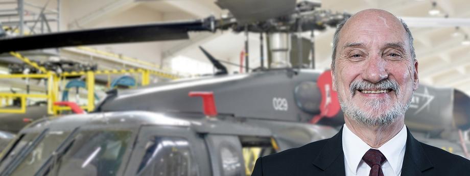 Antoni Macierewicz i helikoptery