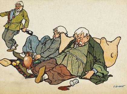 Three drunkarks of Tiflis
