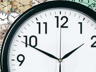 czas zegar zmiana czasu