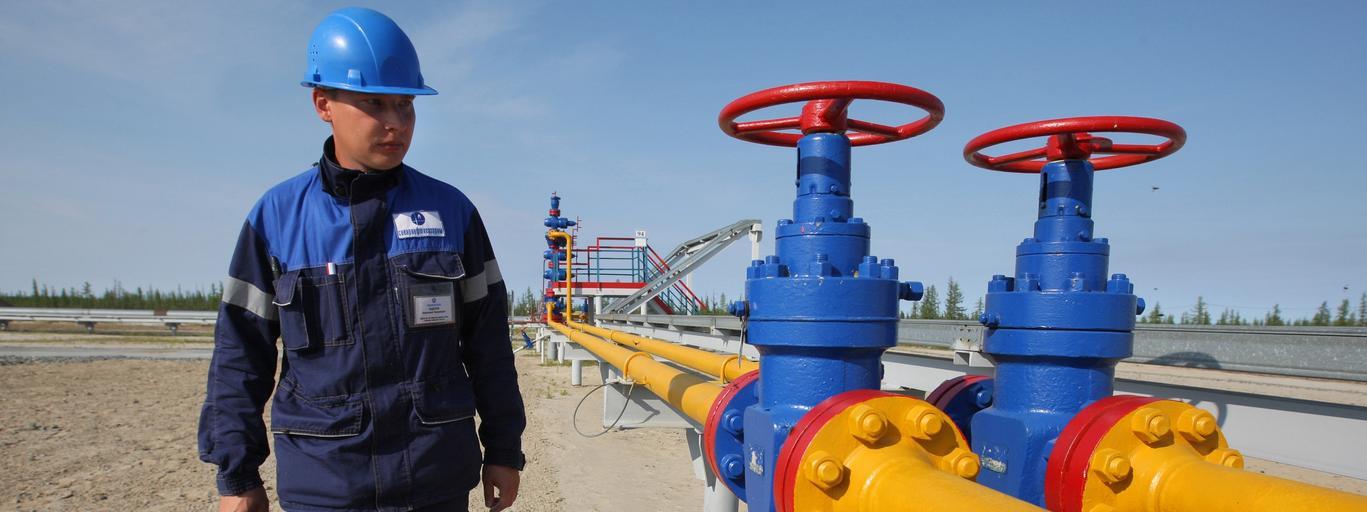 The Yuzhno-Russkoye oil and gas field