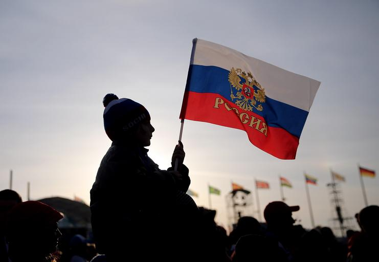 Rosja flaga rosyjska flaga Soczi igrzyska olimpijskie