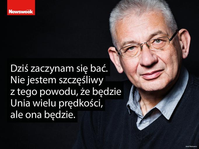 Ludwik Dorn. Wywiad Renaty Grochal w Newsweeku