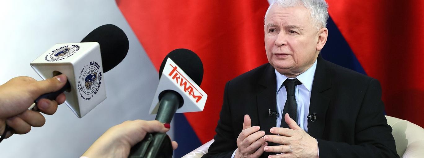 Jarosław Kaczyński PiS polityka Prawo i Sprawiedliwość Radio Maryja TV Trwam media radio telewizja