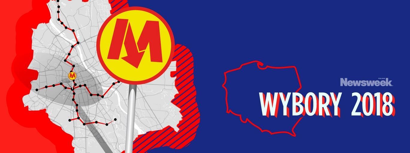 metro w Warszawie wybory samorządowe