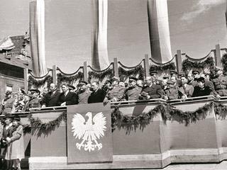 Jak wyglądały obchody Dnia Zwycięstwa nad nazistowskimi Niemcami w 1945 roku?
