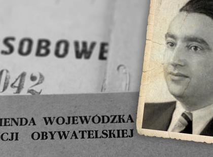 Józef Światło UB biuro polityczna akta