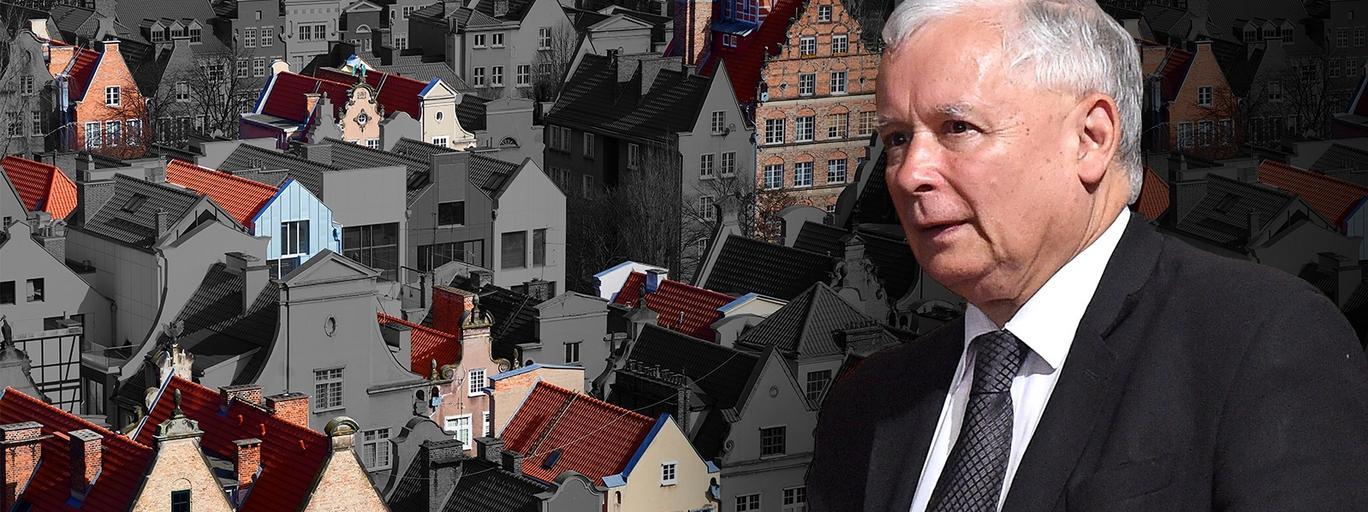 Jarosław Kaczyński reprywatyzacja Warszawa