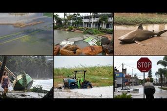 Cyklon spustoszył Australię