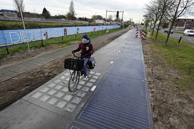 ścieżka słoneczna Holandia