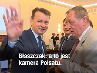 Komiczna sytuacja, która spłoszyła ministrów Szyszkę i Błaszczaka
