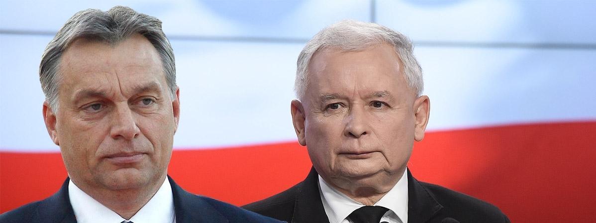 Viktor Orban Jarosław Kaczyński