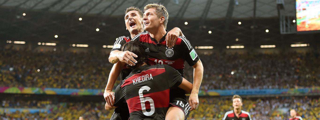 Niemcy roznieśli Brazylię w pył. Wynik 7:1 mówi sam za siebie