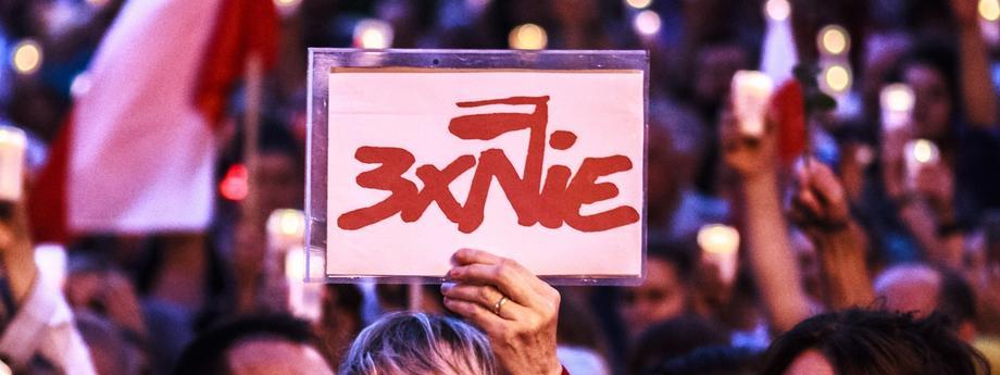 Kolejny dzie? protestów pod S?dem Okr?gowym w ?odzi