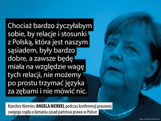 """Kanclerz Merkel """"nie będzie trzymać języka za zębami"""". A my nie omieszkamy przedstawić cytatów tygodnia"""