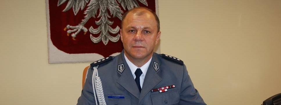 Zbigniew Raczak, szef wrocławskiej policji