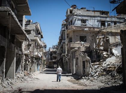 Homs Syria wojna domowa w Syrii Bliski Wschód wojna w Syrii