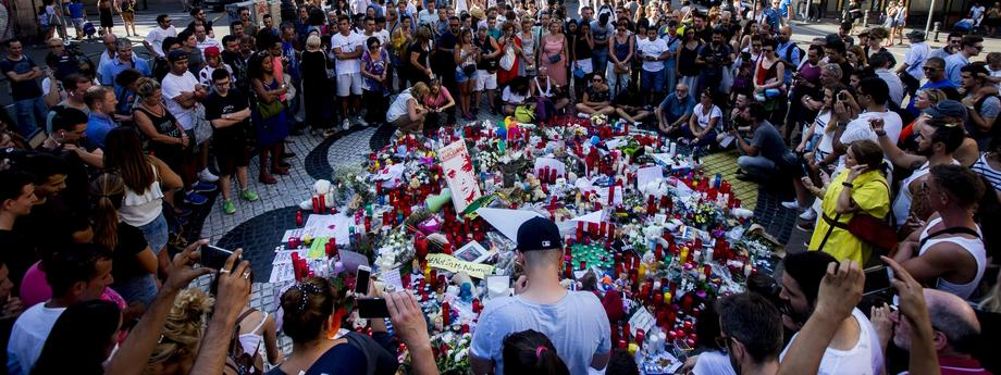 Situation a day after a van attack in Barcelona