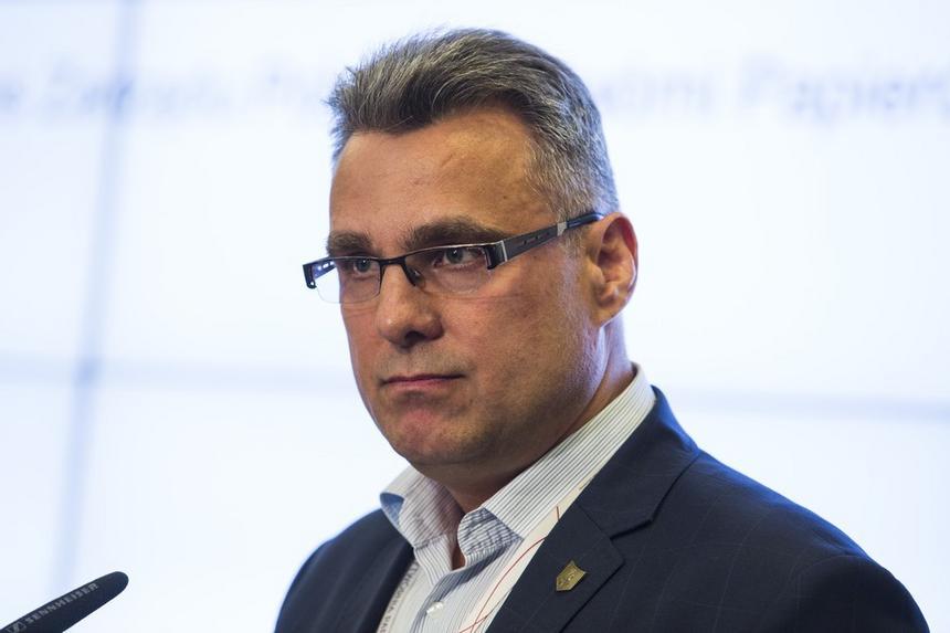 Zwolniony prezes Polskiej Wytwórni Papierów Wartościowych Piotr Woyciechowski