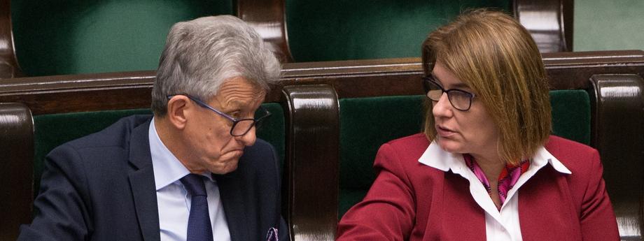 Sejm PiS Prawo i Sprawiedliwość polityka Stanisław Piotrowicz Beata Mazurek