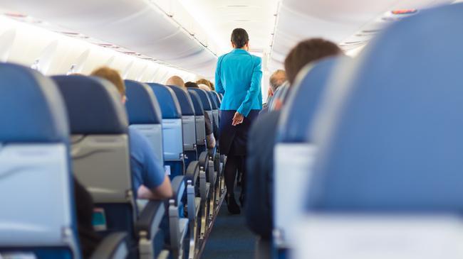 wnętrze samolot