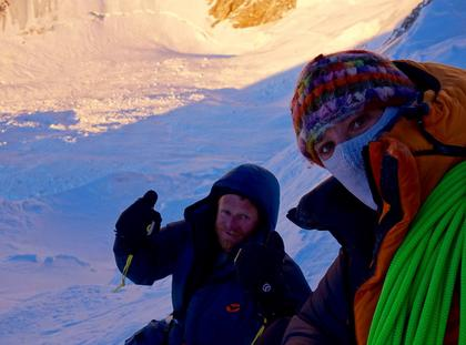 Tomek Mackiewicz i Elizabeth Revol