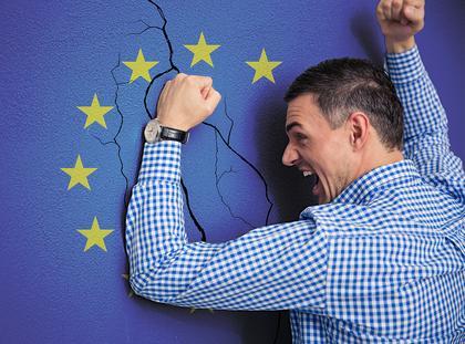 Unia Europejska eurosceptycyzm integracja europejska Europa