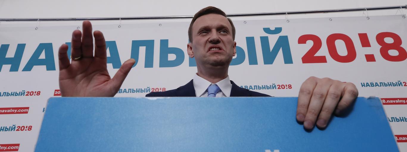 Aleksiej Nawalny Rosja polityka Kreml