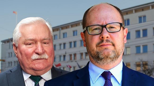 paweł adamowicz, lech wałęsa, gdańsk, prezydent, wybory