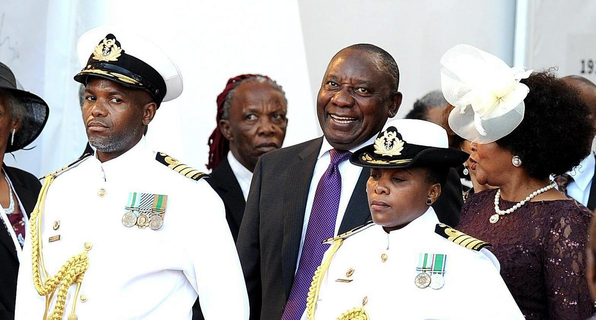 South Africa President Cyril Ramaphosa SONA