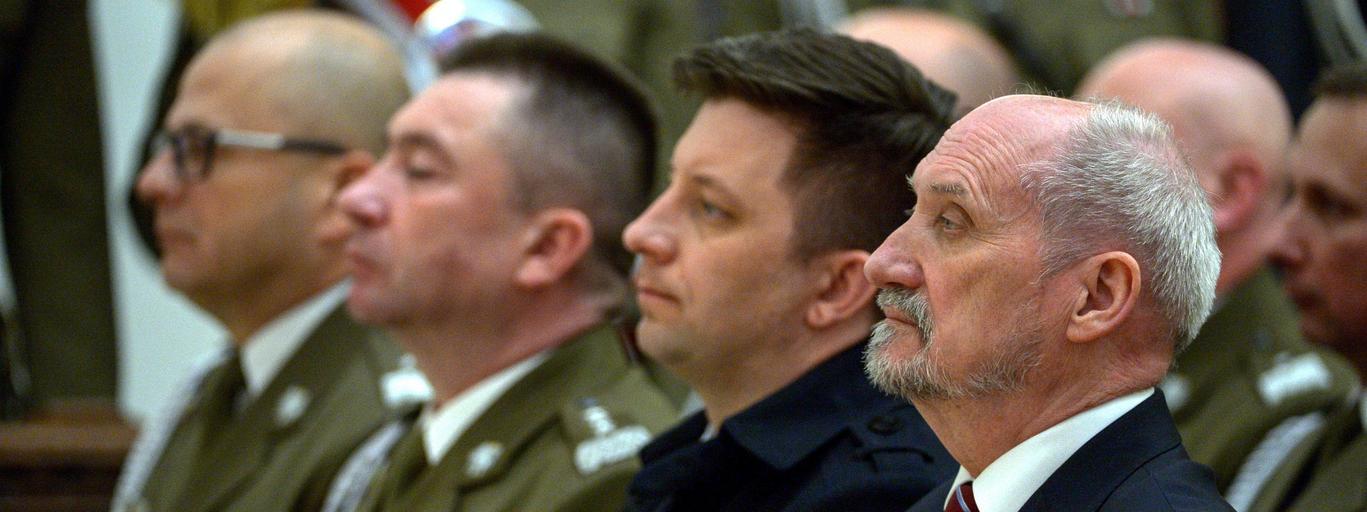 Antoni Macierewicz, Michał Dworczyk, Leszek Surawski