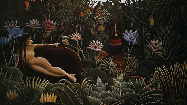 Rousseau, H. / Der Traum/ 1910